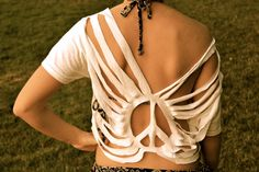 CUSTOM Boho Cut Top  Swim Suit Cover by sjsteed on Etsy