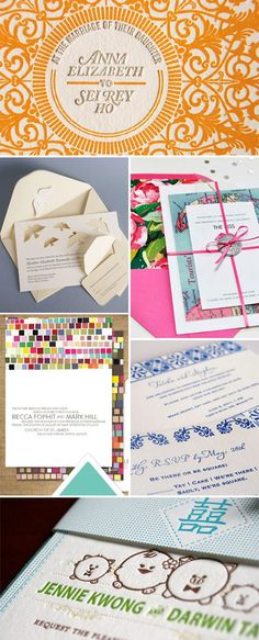 Gorgeous wedding invitations. #stationary #wedding