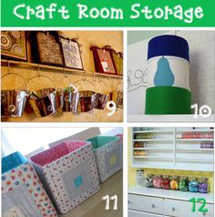 Some really good storage ideas