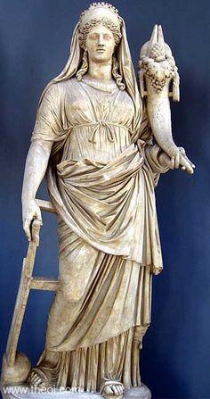 Ancient Greek & Roman Sculpture: Demeter / Ceres