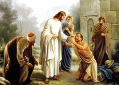 Beautiful Jesus Backgrounds | Jesus Picture Healing The Lame Painting HD Wallpaper | Christian ...