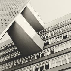 Tower block.