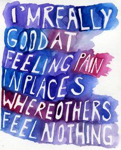 Pain... fibromyalgia