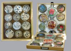 Diane Savona. Soft Bodied Specimens. 'After seeing some of the storage facilites   at a large museum, I tried  presenting old embroidery and crochet as 'soft specimens' preserved under glass mason jar lids.'