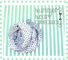 Summer Scarf Giveaway on BBT Tips