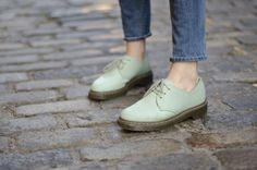 Mint green Doc Martens