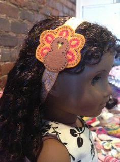 Handmade Turkey Headband