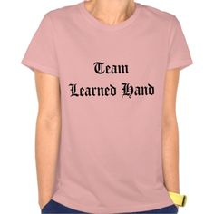 'Team Learned Hand' t-shirt