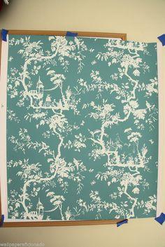 """Vintage Wallpaper - """"Petite Pillement"""" by Waterhouse Wallhangings #WaterhouseWallhangings"""