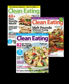 Clean Eating Magazine Meal Plans.......Great site