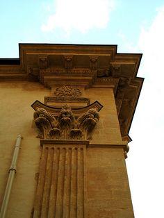 Hôtel de Laurent de Peyrolles, prévôt de la Maréchaussée, dit aussi hôtel Grimaldi-Régusse, détail, Louis Cundier architecte, circa 1675, Aix-en-Provence