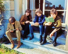 The Beatles reading