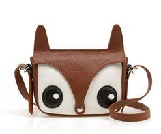 I found 'Brown Vintage Lovely Fox Cross Body Bag' on Wish, check it out!