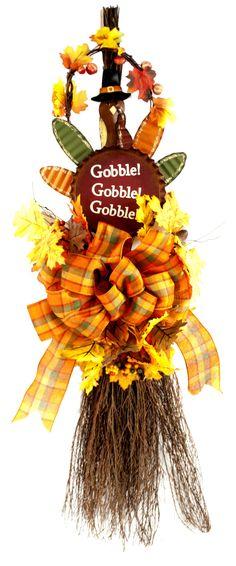 Thanksgiving Cinnamon Broom  #thanksgiving #craft