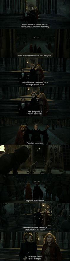 McGonagall being a boss
