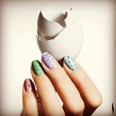 Easter came early! Wear speckled eggs on your nails in a range of pastel shades with the new Illamasqua Speckled collection.