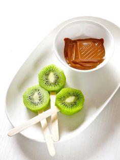 Chocolate Covered Kiwifruit on a Stick