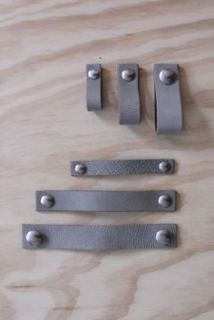 Inu - leather handles