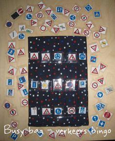 Busy bag - verkeers bingo