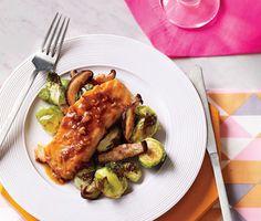 Teriyaki Salmon Recipe | Epicurious.com #myplate #protein