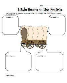 If you teach Little House on the Prairie, you need these two printables!