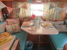 Vintage camper glamper