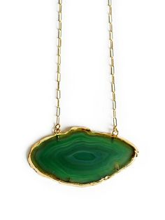 green ZONI necklace by keijewelry on Etsy, $80.00
