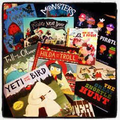 Pirates vs monsters #picturebookwars