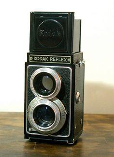 Vintage Kodak Reflex Twin Lens Reflex Camera by CanemahStudios, $35.00