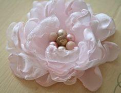 flower making, lapel pins, bridal bouquets, polka dots, hair clips, fabric flowers, closet, flower tutorial, handmade flowers