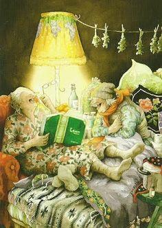books, granni, ing lööks, friends, age