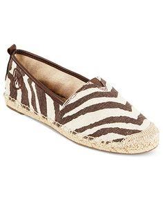 MICHAEL Michael Kors Shoes, Meg Espadrille Flats - Flats - Shoes