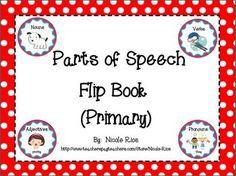 FREEBIE! Review nouns, verbs, adjectives, and pronouns. Fun test prep!