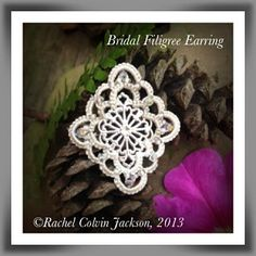 The Piney Woods Tatter: FREE Bridal Filigree Earring Pattern