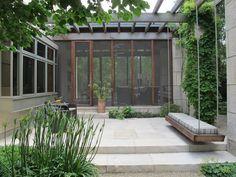 The swing is brilliant! Hoerr Schaudt Landscape Architects