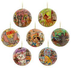 World of Disney Ornament Set   Disney Store