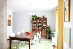 dining room during photos