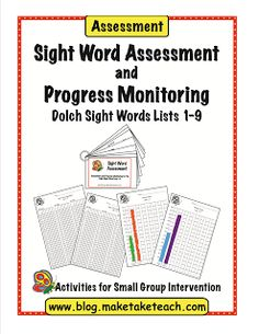 Dolch Sight Word Assessment  - Pinned by @PediaStaff – Please Visit  ht.ly/63sNt for all our pediatric therapy pins