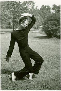 Merce Cunningham at Black Mountain College (1948) by Archer, Hazel Larsen -- Photographer