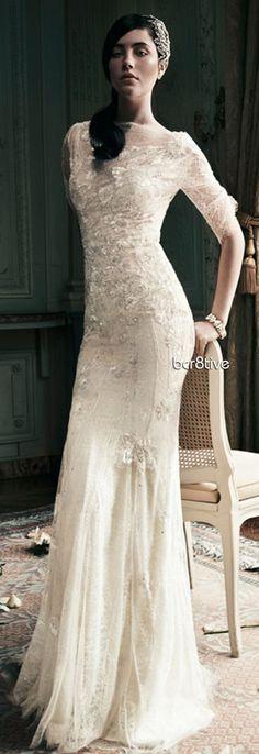 wedding dressses, getting married, ivory wedding, the dress, wedding photos, jenny packham, bride, winter weddings, lace dresses
