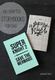 Persia Lou: Kid-Crafted Storybook for Dad
