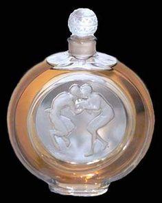 Lalique Art Perfume Bottle.