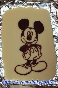 Dibujando fotos con chocolate. Tutorial. |¡Disfrutando en mi hogar!
