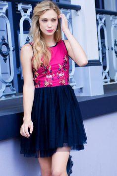 Lyla Embroidered Dress