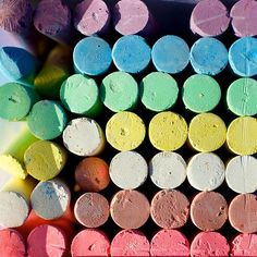 Spray your sidewalk chalk! Make Chalk Spray Mix together water, cornstarch, and soap: they'll have a unique formula that's fun to spritz on the driveway and sidewalk.