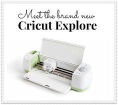 Meet The New Cricut Explore™ Machine!! -- Tatertots and Jello @Cricut® #DIY