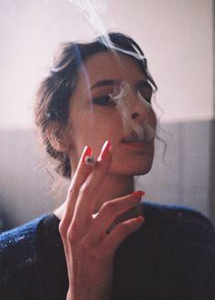 cooler, girls nails, photograph, nail polish, smoking, smokers, red nails, blog, loung
