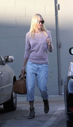 Kate Bosworth in MiH Jeans.  Shop this style: http://us.mih-jeans.com/the-london-boy-cropped-hickory.html.