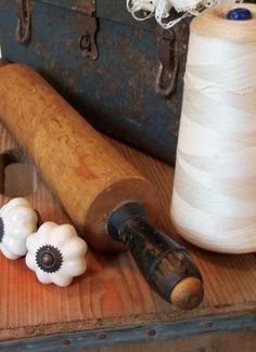 I collect rolling pins. I do too>