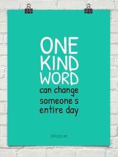 One kind word #28941